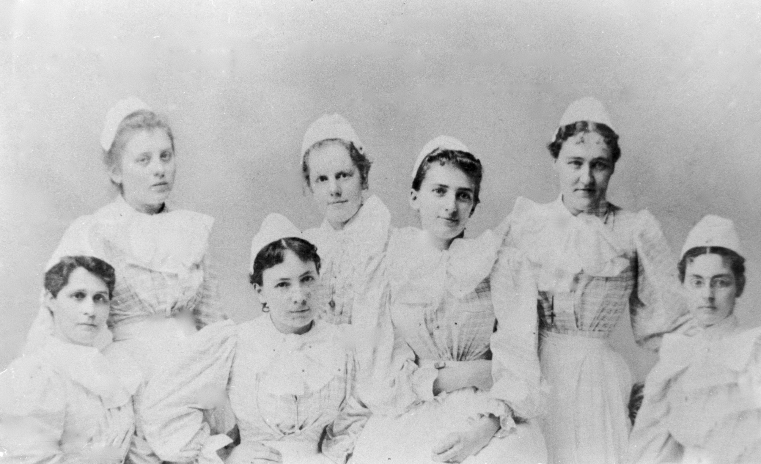 nursing students from 1896