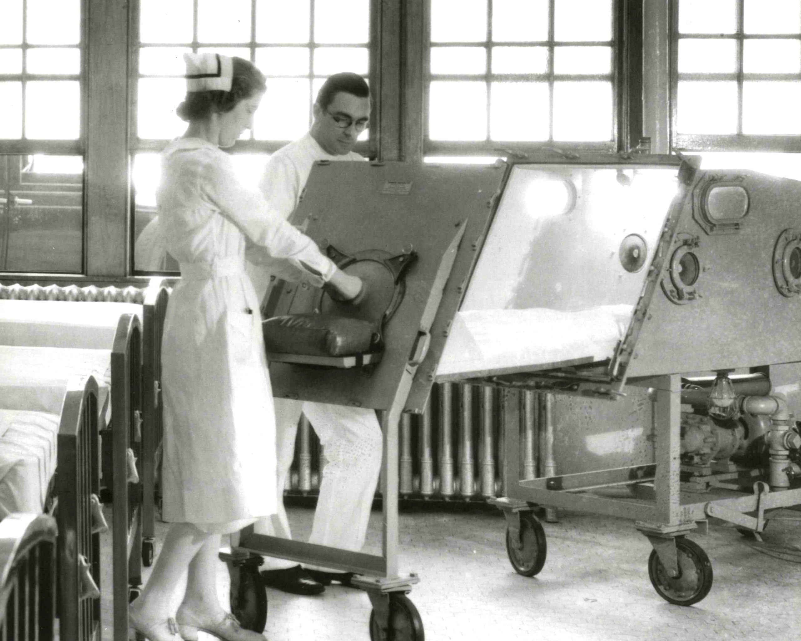 iron lung in 1931