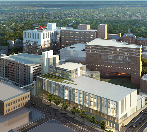 Rendering of the modernization project at MMC