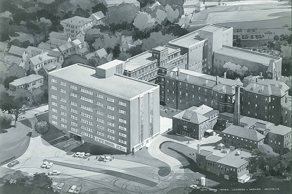 Rendering of the Richard's Wing